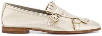 Santoni buckle loafers