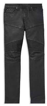 Ralph Lauren Boys' Moto Skinny Jeans - Big Kid