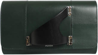 Perrin Paris L'Eiffel Leather Clutch Bag