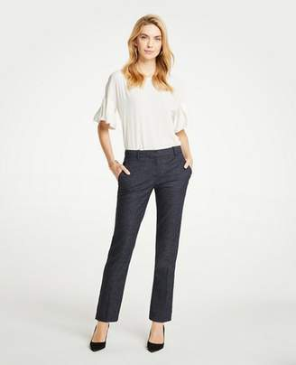 Ann Taylor The Petite Ankle Pant In Mini Check