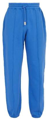 Off-White Off White Blurred Off Cotton Sweatpants - Mens - Blue