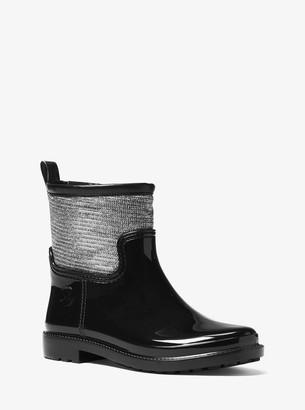 MICHAEL Michael Kors Blakely Chain-Mesh Rain Boot