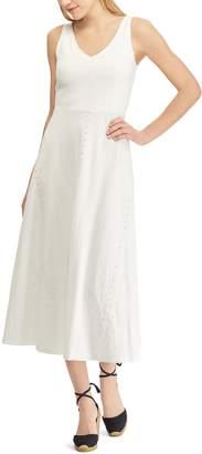 Chaps Women's Fit & Flare Midi Dress