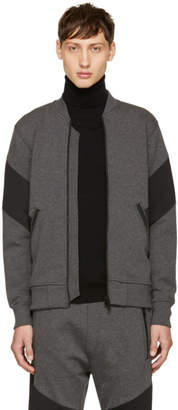 Diesel Grey S-Mello Zip Sweater