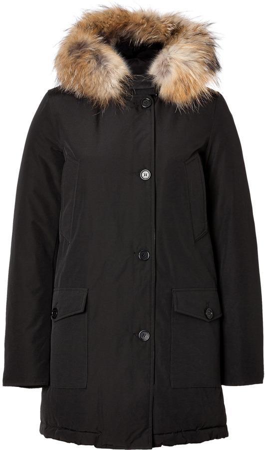 Woolrich Arctic Parka in Black