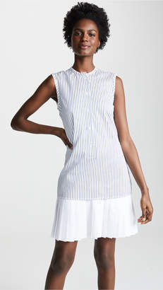 Victoria Beckham Victoria Pleat Hem Shirtdress