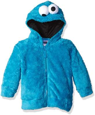 Sesame Street Toddler Boys' Fuzzy Costume Hoodie (Multiple Characters)