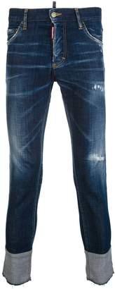 DSQUARED2 Skinny Dan distressed jeans