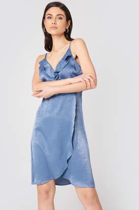 Rut & Circle Rut&Circle Hanna Frill Dress Blue