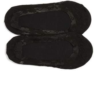 Nordstrom 2-Pack Lace Liner Socks