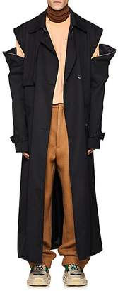 Martine Rose Men's Double-Breasted Trench Coat