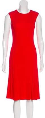 Ralph Lauren Cap Sleeve Midi Dress