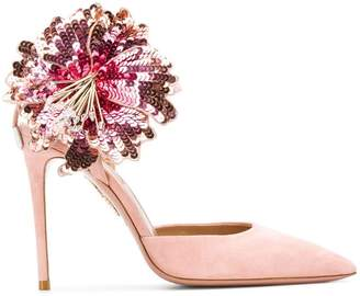 Aquazzura Disco Flower pumps