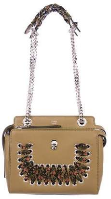 b3689cf222df ... discount pre owned at therealreal fendi small dotcom whipstitched bag  3f8ac b5db2 order fendi leather ...