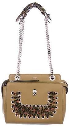 Fendi Small Dotcom Whipstitched Bag