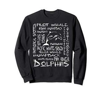 Dolphins Sweatshirt Marine Biology Marine Biologist Shirt