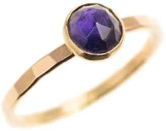 FEATHER+STONE - Gold Iolite Ring