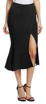 Jonathan Simkhai Ribbed Knit Midi Skirt