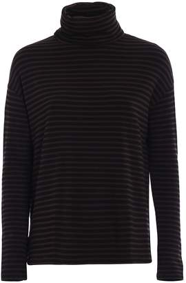 Majestic Filatures Striped Fleece Jersey T-shirt