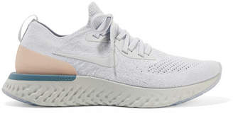 Nike Epic React Flyknit Sneakers - White