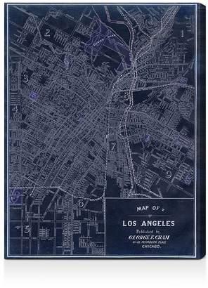 Oliver Gal Los Angeles 1899 Wall Art, 18 x 24
