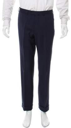 Isaia Woven Dress Pants