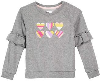 Epic Threads Toddler Girls Ruffle-Trim Sweatshirt, Created for Macy's
