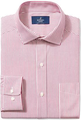 Buttoned Down Men's Classic Fit Spread-Collar Non-Iron Dress Shirt