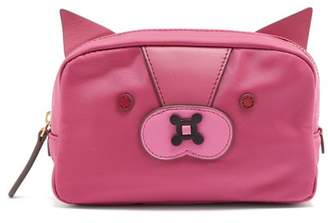 Anya Hindmarch Fox Make Up Bag - Womens - Pink