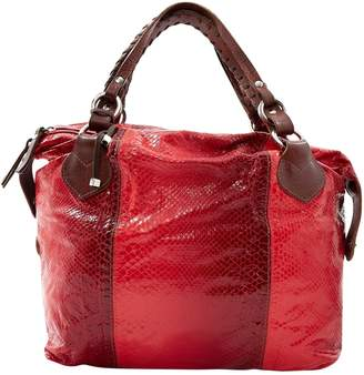 Pauric Sweeney Red Water snake Handbag