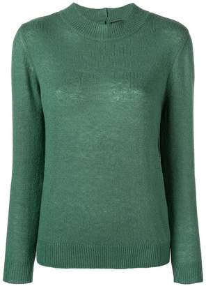 A.P.C. buttoned knitted top