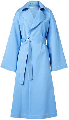 Rosetta Getty Cape Back Cotton Trench Coat