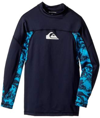 Quiksilver Slash Long Sleeve Rashguard Boy's Swimwear