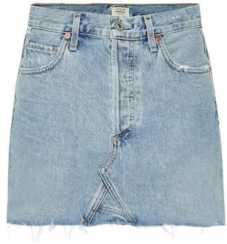 Citizens of Humanity Astrid denim miniskirt