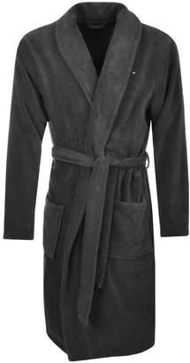 Tommy Hilfiger Icon Bath Robe Grey