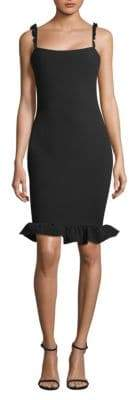 LIKELY Carmen Flounce Sheath Dress