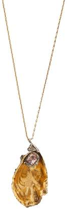 Alexander McQueen Oyster shell necklace
