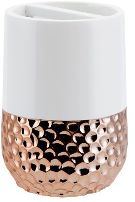 Allure Home Creations Titus Rose Gold Toothbrush Holder