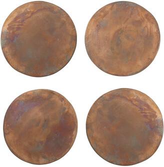 Sir/Madam Copper Coasters - Set of 4