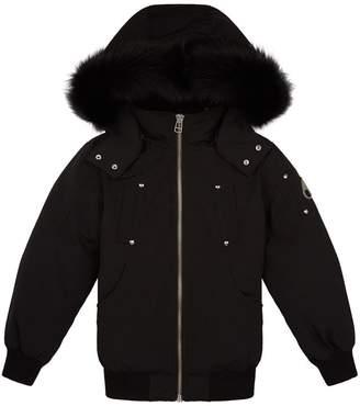 Moose Knuckles Detachable Hood Bomber Jacket
