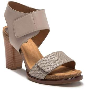 33f04fc572f9 Sofft Cabana Block Heel Leather Sandal
