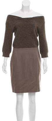Loeffler Randall Wool Sheath Dress
