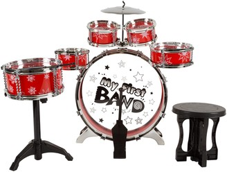 Hey Play Hey! Play! 7-Piece Toy Drum Set
