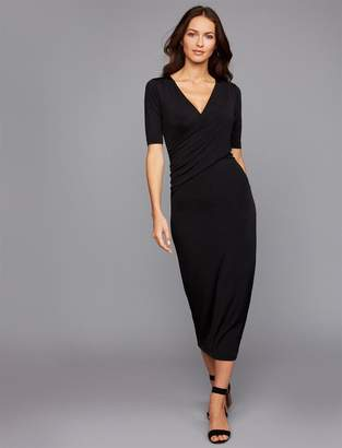 A Pea in the Pod Pull Over Bias Cut Nursing Dress