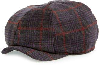 BP Plaid Baker Boy Hat