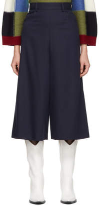 See by Chloe Navy City Trousers