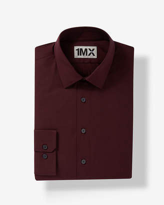 Express Slim Easy Care Textured 1Mx Shirt