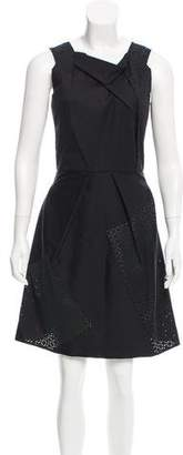 Roland Mouret Sleeveless Paneled Dress