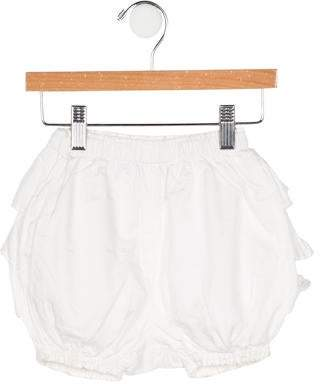 Rachel Riley Girls' Ruffled-Accented Bloomers