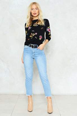 Nasty Gal Walk this Way Mid-Rise Jeans